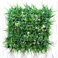 gras teppich rasen großhandel-Künstliche pflanze 30 * 30 cm künstliche pflanzen rasen rasen planta künstliche gras rasen carpet sod garten haus ornamente rasen carpet