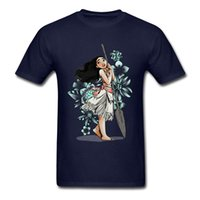Wholesale lovely ladies clothes online - Young Lady Floral Sketch T Shirt Men Cute T Shirt Lovely Woman Tshirt Summer Fall Blue Tops Slim Fit Tee Cotton Clothes No Fade