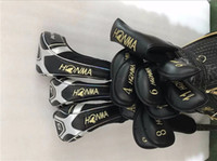 Wholesale beres golf - 4 Star Honma S-05 Full Set Beres S-05 Golf Clubs Driver + Fairway Woods + Irons + Putter R S SR-Flex Graphite Shaft With Head Cover