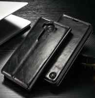 buch steht inhaber großhandel-CaseMe Flip Case für LG V10 V20 G4 G5 G6 Magnet Ledertasche Luxus Wallet Kartenhalter Taschen Zurück Cover Book Stand Case