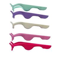 güzellik uygulamaları toptan satış-Toptan 36 adet / grup Plastik Kirpik Uzatma Cımbız Yardımcı Kelepçe Klipler Uygulama Güzellik Göz Kirpik Makyaj Araçları