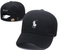 neue ankunfts-polo großhandel-Neuestes preiswertes im Freienfreizeitkarikatur tragen die neue schwarze Baseballkappe des Polo-Hockey retro Art und Weiseknochen Hysteresen-casquette gorra Vatihut
