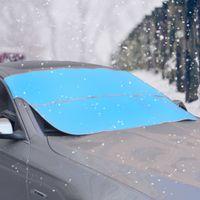 ingrosso blocco universale-Parabrezza per auto Parasole UV Parasole Auto Veicolo antigelo Pieghevole Visiera parasole Universal Car Dual Side Use 78.74 * 37.4 Inch