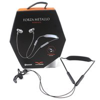 Wholesale girls wireless headphones - V-MODA Forza Metallo Wireless Sport Earbuds Bluetooth In-Ear Headphones with 3-Button Remote & Microphone Ear Hook with Retail box Girls