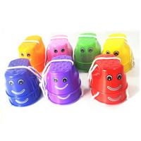 Wholesale Inflatable Pool Walking Balls - Plastic Smile Face Walk Stilt Jump Toys Multi Color Children Outdoor Sports Balance Training Toy 1 15xp C