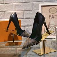 ingrosso fabbriche di tallone-Le scarpe col tacco alto da donna di 10cm sono delle stazioni europee con le scarpe da donna in pelle all'interno della fabbrica di pelle di pecora diretta spedizione gratuita