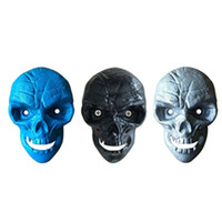 ingrosso viti apribottiglie-Wall Mounted Skull Bottle Opener Cast Iron Beer Bottle Openers Can Fixed With 2pcs Screw Creative Kitchen Bar Open Bottle Tool T2I262