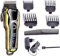 saç kesme makineleri toptan satış-20 w Turboşarj Berber saç kesme profesyonel saç düzeltici erkekler elektrikli kesici kesme makinası saç kesimi aracı 110 v-240 v