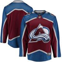 nhl jersey barato al por mayor-2018 nhl camisetas de hockey a medida de los hombres de Colorado Avalanche Fanatics Branded Maroon Breakaway Home Jersey tienda usa deportes hockey jersey A