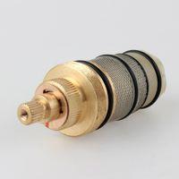 Wholesale Bath Shower Mixer Taps - Thermostatic valve spool copper faucet cartridge bath mixer tap shower mixing valve Adjust the Mixing Water Temperature