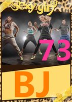 Wholesale Dance Aerobics Dvd - on Free Shipping in Stock 2015.7 Q3 Body New Routine BJ 73 Aerobics Fitness Comprehensive Latin dance BJ73 DVD+CD Exercise Videos
