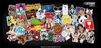 diy pc toptan satış-50 adet Komik Araba Çıkartmaları Motosiklet Bavul Telefonu Dizüstü Kapakları DIY Vinil Decal Sticker Bomba JDM Araba styling