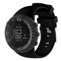 uhrenbänder zum verkauf großhandel-Susenstone 2017 Armband Luxuxuhrbügelsilikon für Suunto Kern saat kordonu Silikon correa reloj heißer Verkauf
