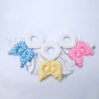 Wholesale baby toddler toys online - Baby Angel Wing Head Bolster Children Lovely Toddler Protective Pad Cushion Toys Anti Fall Pillow Creative hb bb