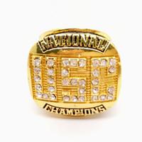faculdade rápida venda por atacado-1978 USC Trojans Rose Bowl Nacional College Championship Anel Anéis de Moda de Alta Qualidade Fãs Melhores Presentes Fabricantes Transporte Rápido