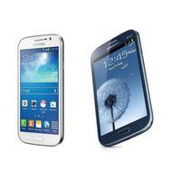 android mikro-sim-karte großhandel-Entsperrt Refurbished Samsung GALAXY Grand DUOS I9082 WCDMA 3G WIFI GPS Dual Micro SIM-Karte 5 Zoll 1 GB / 8 GB Andorid-Smartphones