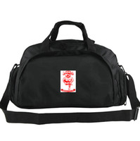 Wholesale play boy bags resale online - Lincoln City duffel bag Good play club tote Football backpack Exercise luggage Soccer sport shoulder duffle Outdoor sling pack
