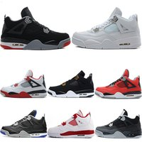 Wholesale money arts resale online - 2018 Mens Designer Basketball Shoes Fire Red Bred Pure Money Men s Sport Royalty White Cement Military Blue Sneaker size