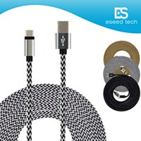 Wholesale moto usb - Rugged Bold Braided USB Type C 3.1 to USB 2.0 A Data Charging Cable Reversible Connector Charger Cord for Moto Z Force LG G5 Nexus 6P 5X