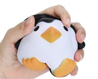 Wholesale penguin decor for sale - Group buy Penguin Squishy Decompression Perfume Toy Simulation Relax Pretty Decor Spicy Toys Jumbo Slow Rising Squishies