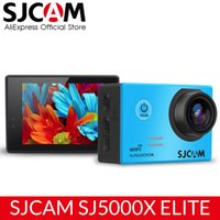 Wholesale 24fps camera for sale - Group buy SJCAM SJ5000X Elite Action Camera WiFi K fps K fps Gyro Sports DV LCD NTK96660 Diving m Waterproof Camcorder