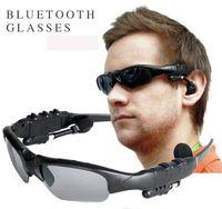 ingrosso occhiali bluetooth-Occhiali da sole Bluetooth Occhiali da sole Sport 3.0 Occhiali da sole senza fili stereo Vivavoce Cuffie per chiamate musicali per iphone samsung HTC Smartphones