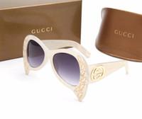 vidrio espejo cuadrado al por mayor-Nueva Square Luxury Sun Glasses Brand Designer Ladies Sunglasses Mujeres Espejo Gafas de sol para Mujer Envío Gratis 00143