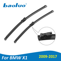 Wholesale e84 bmw x1 - BAOLUO Wiper Blades For BMW X1 E84 F48 2009 2010 2011 2012 2013 2014 2015 2016 2017 Natural Rubber,Windshield,Boneless Wipers