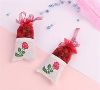 ingrosso nuovi fiori secchi-New Fragrances Natural Lavender Rose Jasmine Bud Bust Sacchetto di fiori secchi Aromaterapia Aromatic Air Refresh