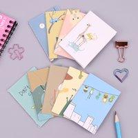 mini livro de anotações bonito venda por atacado-9 PCS Coreano Animal Kawaii Mini 120 K Notepad Bonito Dos Desenhos Animados Notebook Nota Livro Escola Suprimentos Essenciais