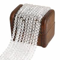 граненые ожерелья из бисера оптовых-Mix 26Colors 3mm Transparent/Pink/Champagne/Brown/Rainbow AB Colors Crystal Faceted  DIY Necklace Jewelry 145Pcs/Lot