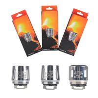 Wholesale coils cores - Authentic TFV8 BABY Beast Tank Coils Head V8 Baby-T8 T6 X4 M2 0.15 0.25ohm Q2 0.4 0.6ohm Coil Cores
