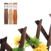 Wholesale Plants Supports - 5ft Expanding Wooden Garden Wall Fence Panel Plant Climb Trellis Support Decorative Garden Fence For Home Yard Garden Decoration