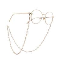 porte-lunettes achat en gros de-Lunettes de soleil perlées avec lunettes Lunettes de lecture Porte-chaîne Accessoires pour lunettes de soleil Solde