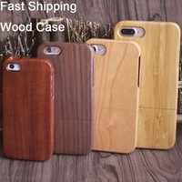 iphone 5s covers wood Australia - China Manufacturer Price Wood Case For iphone X 10 7 Plus 8 6 6s 5 5s Natural Two-parts Wooden Bamboo Cover Case for Samsung S9 S8 S7 Note 8
