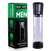 YUELV USB Rechargeable Electric Penis Pump Enlargement Male Vacuum Penis Extender Cock Enlarger Adult Toys Sex Products For Men Gay