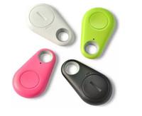 mini alarmes venda por atacado-Mini Telefone Sem Fio Bluetooth 4.0 Sem GPS Tracker Alarme iTag Key Finder Gravação de Voz Anti-lost Selfie Do Obturador Para ios Android Smartphone