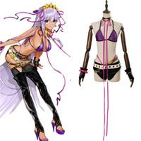 sipariş cosplay toptan satış-Kader Grand Order Cosplay Yetişkin Kadınlar Kız BB Kostüm Mayo Elbise Cadılar Bayramı Karnaval Cosplay Kostümleri