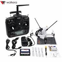 walkera devo оптовых-Оригинальный Walkera Родео F150 F3 5.8 G 6-осевой FPV гоночный дрон с DEVO-7 Mode2 передатчик 600TVL камеры RTF новое прибытие