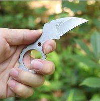 karambit bıçakları üstleri toptan satış-Sabit bıçak avcılık Düz Bıçak Pençe Karambit Boyun bıçaklar Taktik Survival EDC Aracı Açık Geer Kamp Üst kalite satılık MH187-C