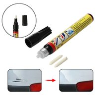 Wholesale clear car scratch resale online - 1 Fix It Pro Car Scratch Repair Remover Pen Clear Coat Applicator Tools