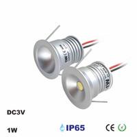3-5pcs//lot dimmable  DC12v 0.5W mini LED Puck//Cabinet Light,led ceiling light.