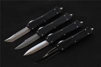 outils cnc livraison gratuite achat en gros de-Livraison gratuite de haute qualité lame de couteau de combat MIKER: D2 poignée: aluminium (finition CNC) couteaux de chasse camping en plein air outils EDC