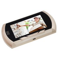 цифровые зрители оптовых-Danmini смарт цифровой дверной глазок камеры с функцией обнаружения движения PIR ночного видения DND 4,3-дюймовый цветной экран HD