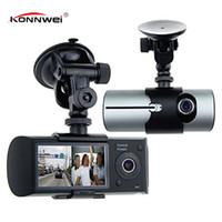 "Wholesale gps car vehicle dvr - 2017 New Dash Camera 2.7"" Vehicle Car DVR Camera Video Recorder Dash Cam G-Sensor GPS Dual Len Car Detector Gps"