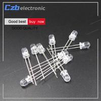 diodo led 5mm venda por atacado-2 PCS raios UV LED lâmpada Roxo Luz 5mm 365nm Rodada luzes LED Diodos Da Lâmpada