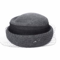 boinas de fiesta al por mayor-2018 Nuevas Mujeres Otoño Invierno Europeo Americano Sombreros de Lana Moda Británica Retro Sombreros de Boina Encaje Fiesta de Gasa Pequeño Sombrero de Sombrero