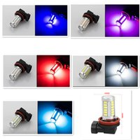 Wholesale h8 bulb yellow resale online - Constant Current LED h11 h8 HB3 HB4 LED SMD w Car Headlight Fog Light Head Lamp