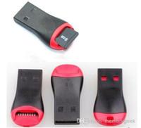 micro card de 4 go achat en gros de-Lecteur de carte USB TF Lecteur de carte mémoire USB 2.0 Micro SD T-Flash TF M2 Adaptateur haute vitesse pour 4 Go 8 Go 16 Go 32 Go 64 Go 128 Go TF Carte micro SD
