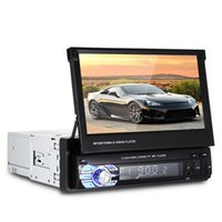 Wholesale Car Gps Screen - Universal 1 Din 7.0 inch TFT LCD Screen Car DVD Multimedia Player MP5 Bluetooth Auto Audio stereo FM Radio 12V